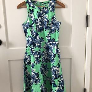 J.Crew Women Dress wPockets Floral Size 0